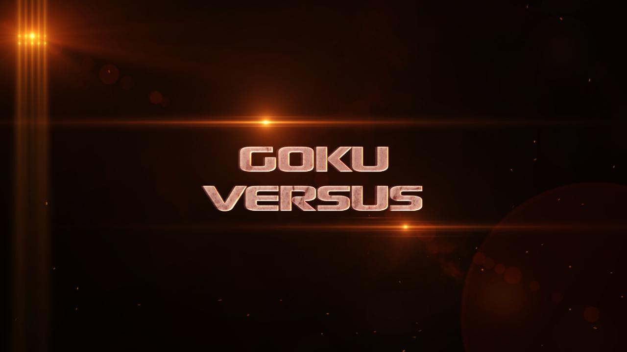 Goku Versus title