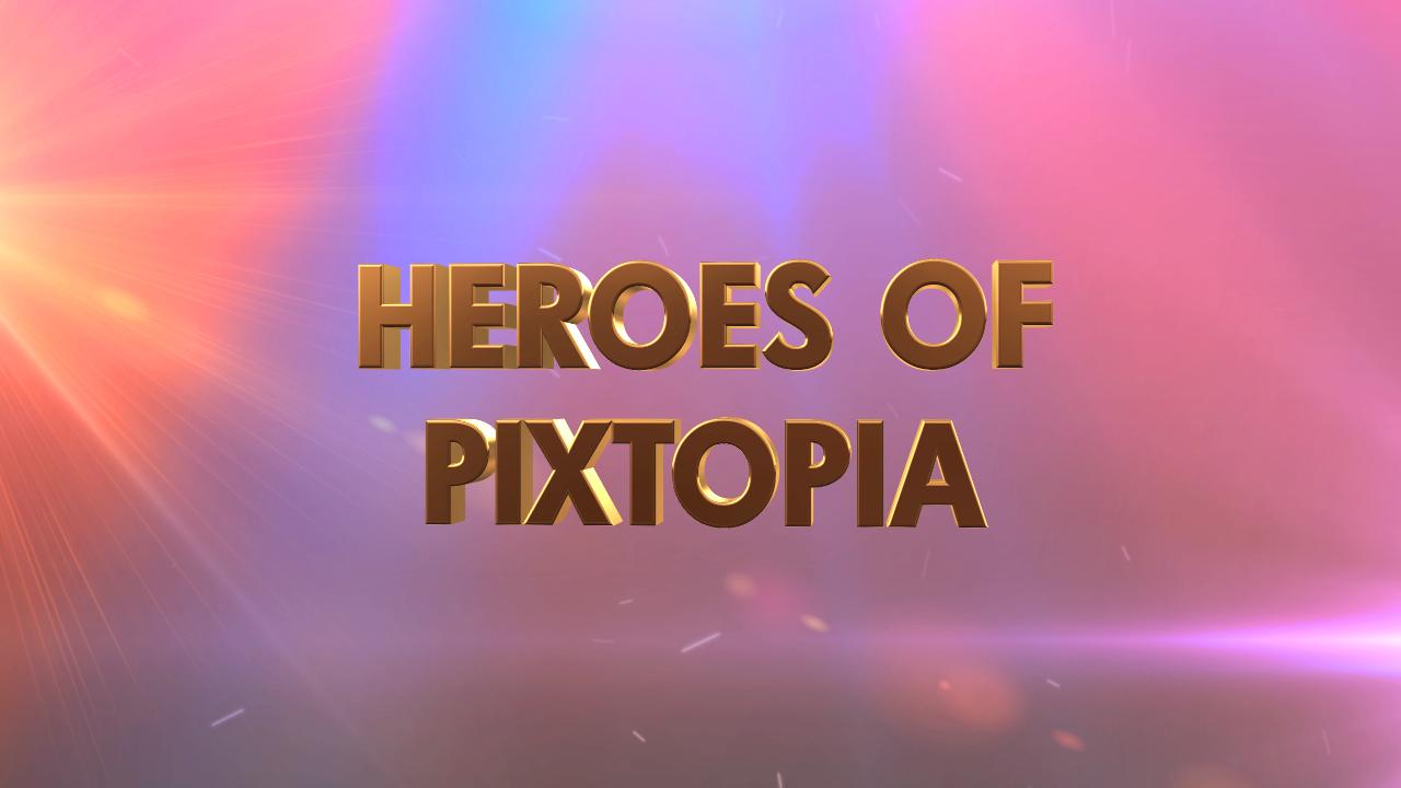 Heroes of Pixtopia Logo